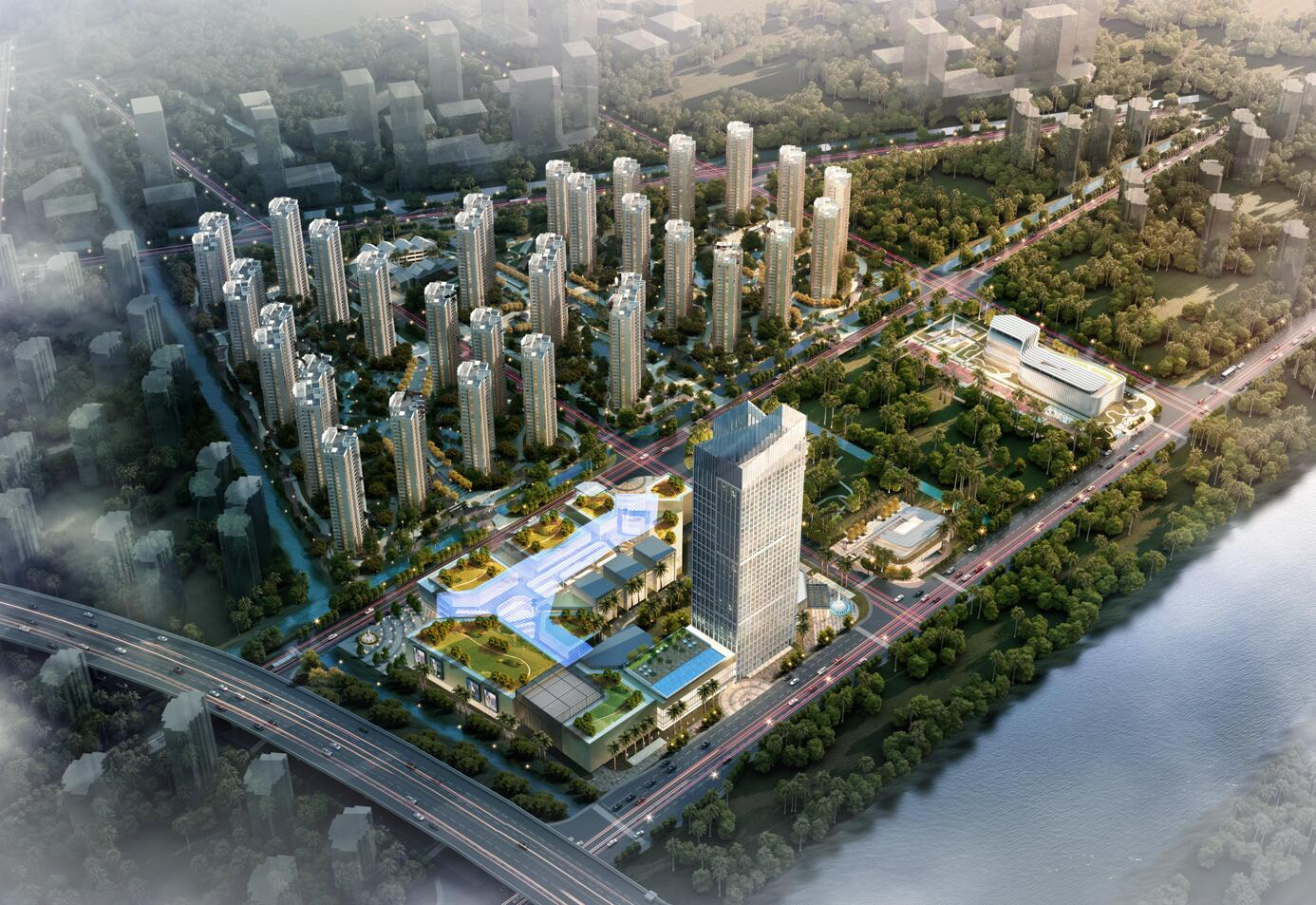 珠海横琴新区金汇国际广场